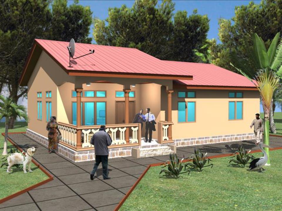 Modele 2 : Type villa T3