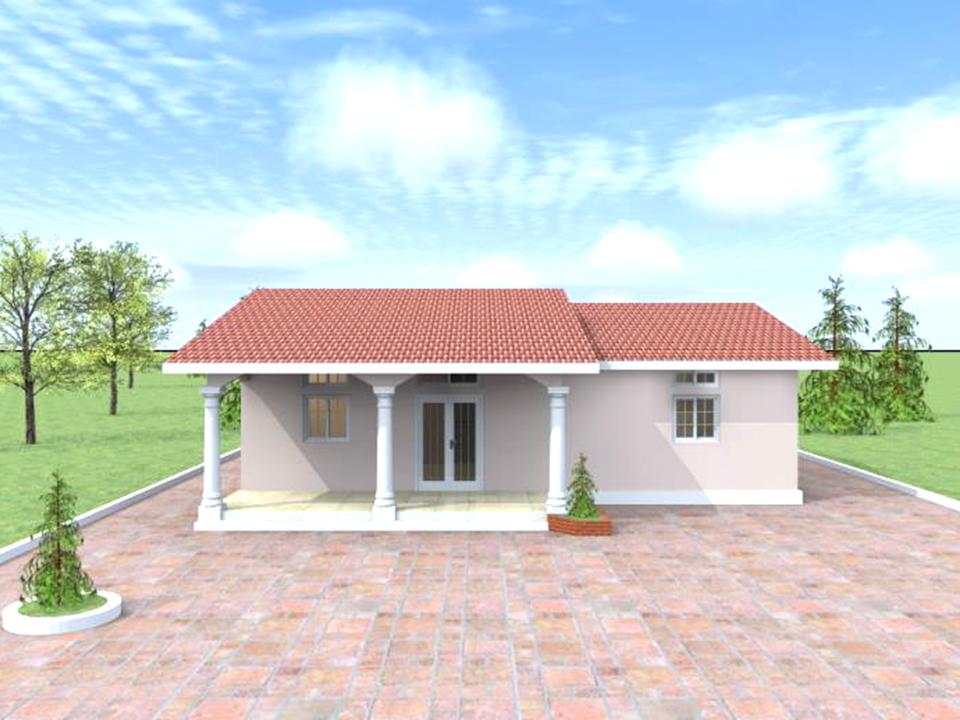 Modele 3 : Type villa T2