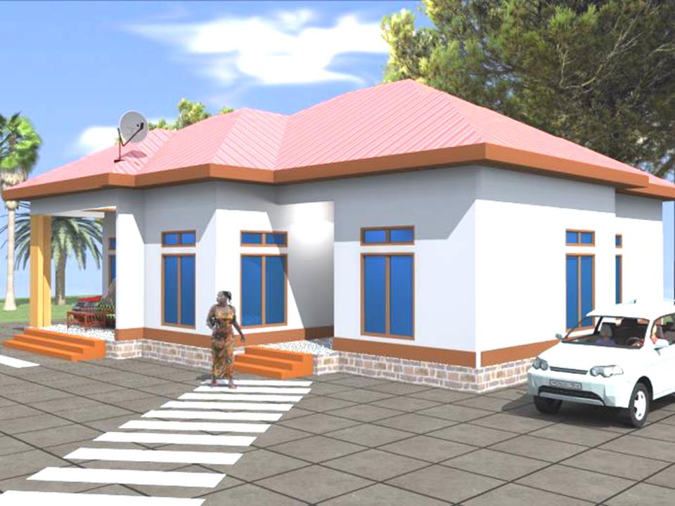 Modele 4 : Type villa T4